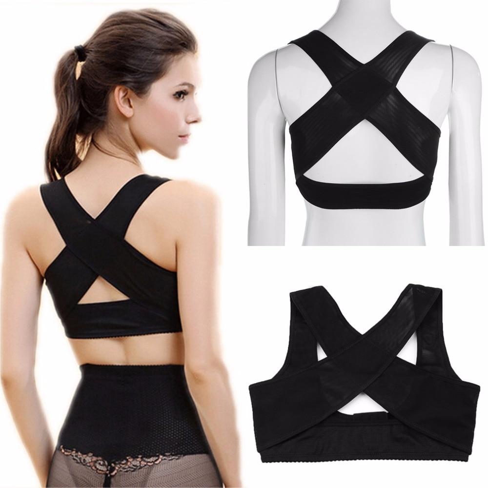 Women Back Posture Corrector Brace Strap Shoulder Chest Support Body Shaper Corset Belt Underwear Therapy Orthotics Health Care 3