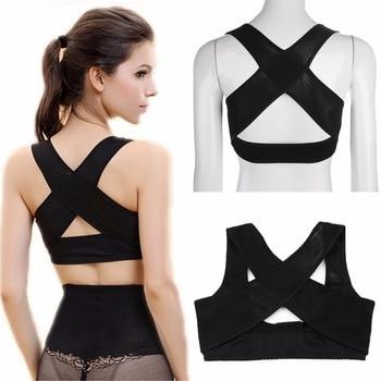 Women Back Posture Corrector Brace Strap Shoulder Chest Support Body Shaper Corset Belt Underwear Therapy Orthotics Health Care 8