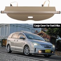 Rear Cargo Cover For Ford I Max IMax 2008 2018 privacy Trunk Screen Security Shield shade Auto Accessories