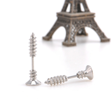 Piercing Screw Stud Earrings