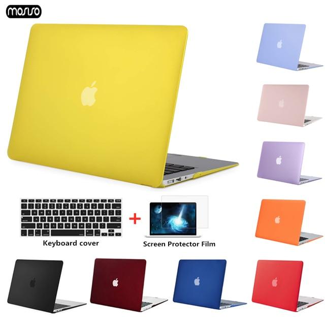 MOSISO Máy Tính Xách Tay Trường Hợp Bìa cho Macbook Pro 13 Retina 13 Mô Hình A1502 A1425 cho MAC cuốn sách New Pro 13 inch với Cảm Ứng Thanh A1707 A1708