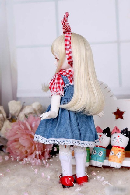 1/6 BJD Doll BJD/SD Honey Delf Hanaels Lovely Doll With Eyes For Baby Girl Birthday Gift  4