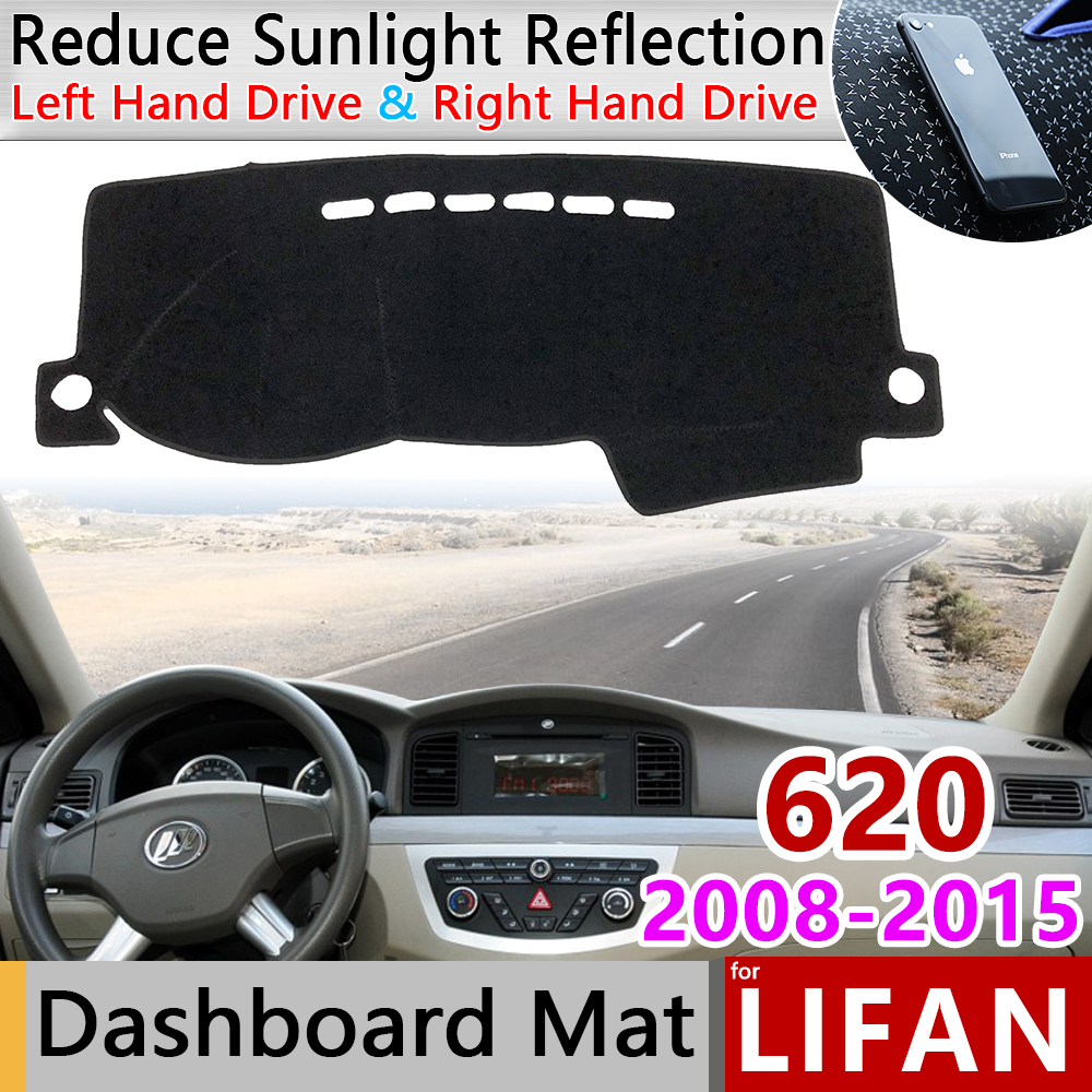 For Lifan 620 630 2008 2009 2010 2011 2012 2013 2014 Solano Anti-Slip Mat Dashboard Cover Pad Sunshade Dashmat Car Accessories