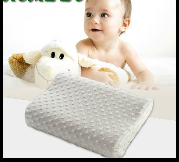 Wholesale Of Memory Foam baby Pillow Stripe super soft magnetic for Children 40*27*6cm Cushion Free Shipping (WN20-1)