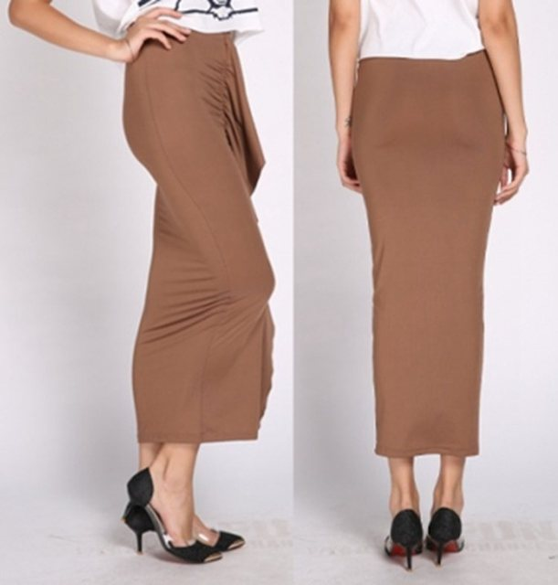 lady sexy night skirt fashion summer trumpet skirts party bar maxi skirt black blue middle long skirts
