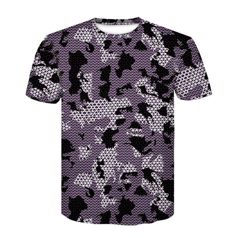 2018 Camouflage T-Shirt Quick Dry Breathable Tights Army Tactical T-shirt Mens Compression T Shirt Fitness Summer