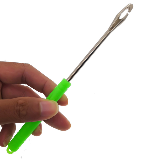 New Stainless Steel Hook Detacher Remover Tool Unhooking Device Fishing Tackle Safety Extractor Fish Tools Fish Hook Remover