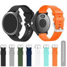 Colorful Soft Silicone Replacement Strap for Garmin vivoactive3 vivomove HR Smart Wristband for Garmin Forerunner 645 /245/245M