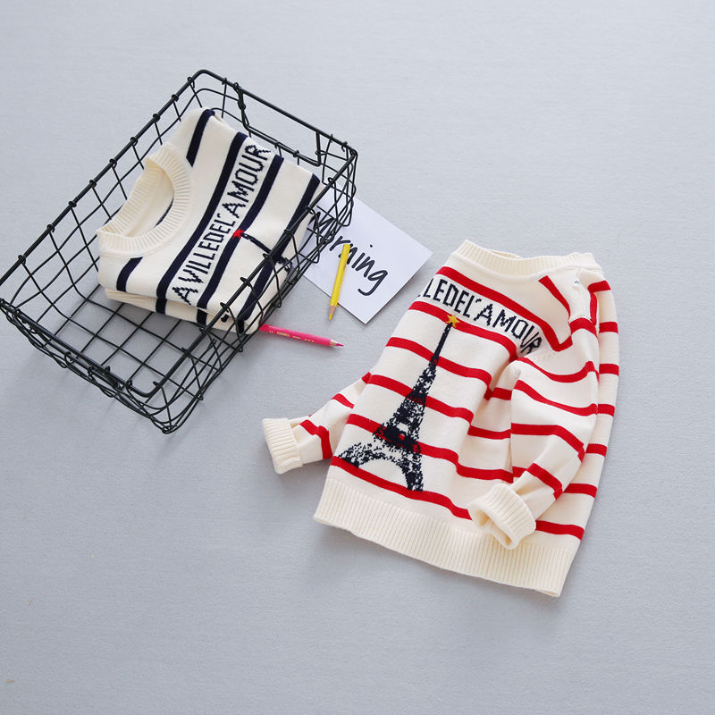 Autumn-Preppy-Chic-Girls-Boys-Kids-Baby-Infants-Long-Sleeve-Letter-Strip-Tower-Outwear-Pullover-Knitwear-Sweater-Camisola-MT1276-2