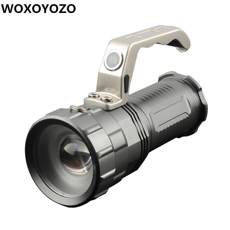 Powerful LED Flashlight CREE XM-L T6 5000LM 3 Modes Torch Search Camping Hunting Fishing Miner's Lamp Lantern Light 3800 lumens cree xm l t6 5 modes led tactical flashlight torch waterproof lamp torch hunting flash light lantern for camping z93