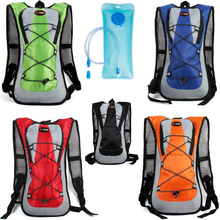 5L Bicycle Backpack+2L Waterproof MTB Bike Water Bag For Climbing Hiking Breathable Outdoor Cycling Backpack 5l sturdy water resistant outdoor backpack cycling backpack bag biking hiking bag shoulder gym bag daypack lightweight