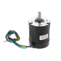 57BLS02 57x75mm Brushless DC Motor BLDC 36V 92W 4000rpm 3 Phase 0.22N.m/31.0oz.in. Small DC Motor For 3D Printer DIY Design