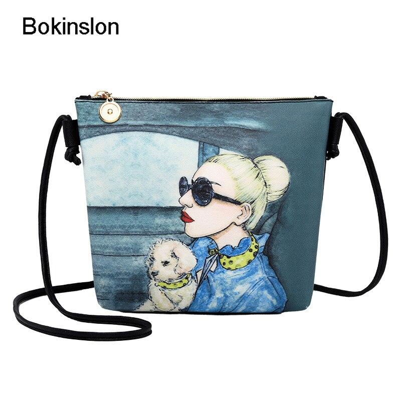 Bokinslon Shell Bags For Woman Split Leather Fashion Women Crossbody Bag Temperament Elegant Ladies Shoulder Bags стоимость