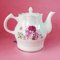 Бесплатная доставка Высокое качество Электрический Керамический чайник, красная роза, 1200 Вт В, 220 В, 1.5L