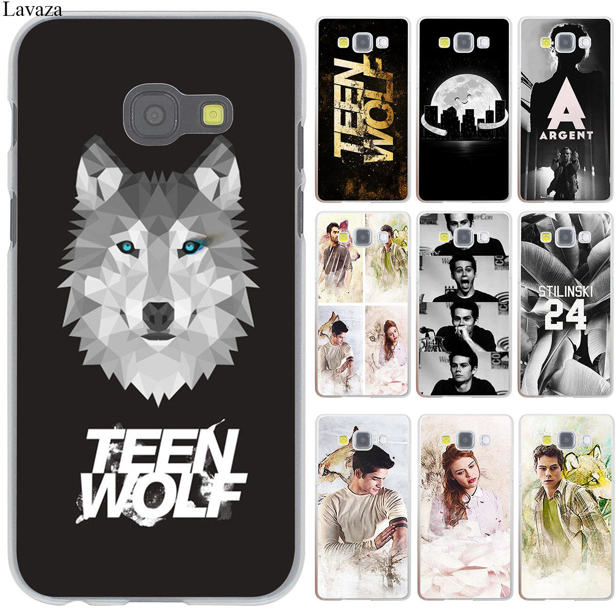 coque teen wolf hard case cover for galaxy a3 a5 j5 2015 2016 2017 j7 j3 j5 prime note 3 4. Black Bedroom Furniture Sets. Home Design Ideas