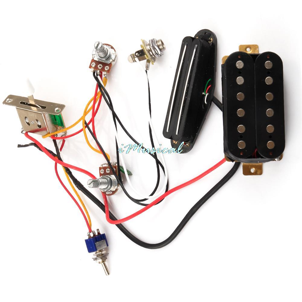 Humbucker Wiring Harness Diagram Portal Pickup New Circuit W For Sgr Lpl Tl Rh Aliexpress Com Epiphone
