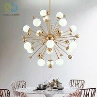 Disenolampa pendant big Bang Modern hanging lamp light LED dinning bed room bedroom foyer round glass ball black gold nordic