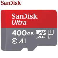 100% Original Sandisk Micro SD karte Class10 TF Karte 16 gb 32 gb 64 gb 128 gb 400 gb 100 MB/s Speicher Karte Für Samrtphone Und Tablet PC