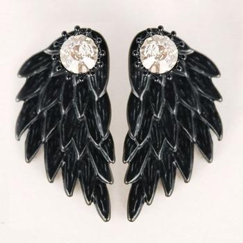 Модные Сережки Ангельские крылья в ассортименте 1