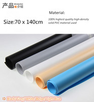 68 X 130cm White Sky Blue PVC Material Background Backdrop Anti Wrinkle For Photo Studio Photography
