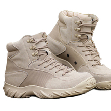 America military males's tactical boots Desert outside mountain climbing lovers footwear Military marine male fight boot Tactical shoe 2Color