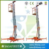 8m Movable Electric Aluminum Portable Work Platforms