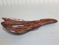 Full carbon bicycle saddle desiged for MTB and RB KQ SA10 / wood grain /special style