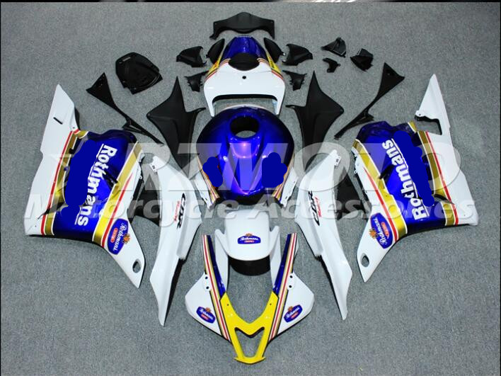 ACE KITS New ABS Injection Fairings Kit Fit For  HONDA  CBR600RR F5 2009 2010 2012 CBR600RR F5 09 12  White D20ACE KITS New ABS Injection Fairings Kit Fit For  HONDA  CBR600RR F5 2009 2010 2012 CBR600RR F5 09 12  White D20