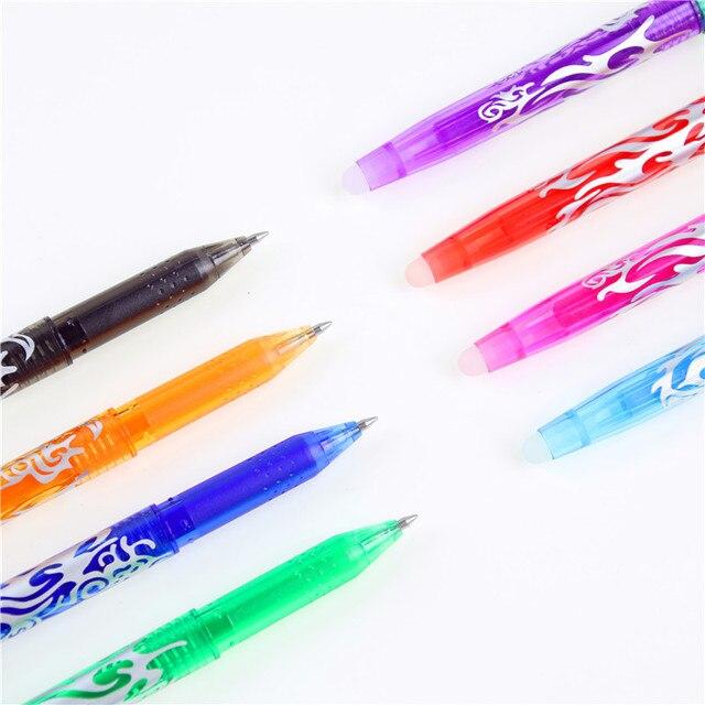 8 pièces/ensemble 8 types de Styles arc-en-ciel effaçable stylo nouveau Best-seller créatif dessin Gel stylo étudiant papeterie