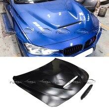 GTS Стиль стайлинга автомобилей из металла Материал капот двигателя Обложка для BMW F30 F31 F32 F33 F36