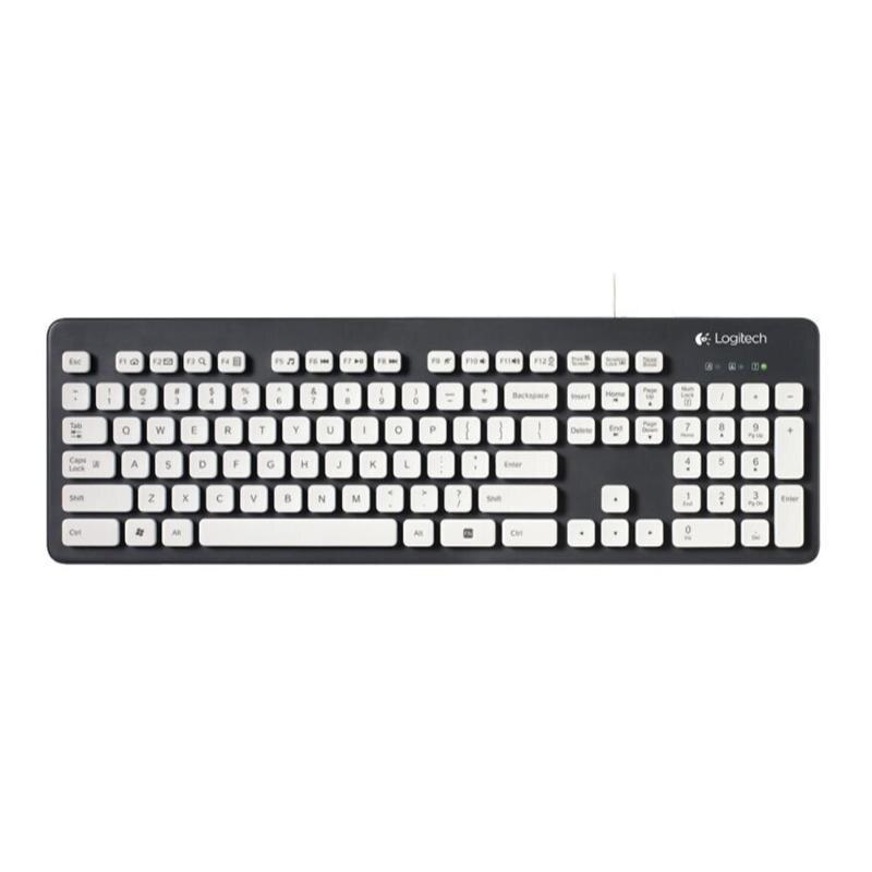 Logitech K310 Washable Wired Keyboard 108Keys USB Gamer Keyboard For Windows XP Vista 7 8 Desktop Laptop PC Computer