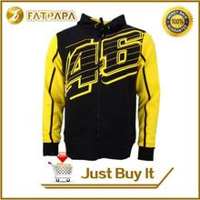 2017 MotoGp new men's sweater fashion sport motorcycle jacket for Rossi VR46 46 limited edition signature MOTO GP yellow