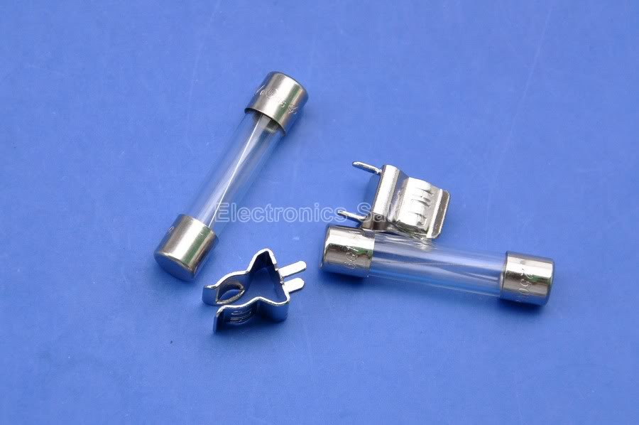 20Pcs 6x30mm 250V 10A Fast Blow Type Glass Tube Fuses BSG$BLCAEC@M