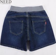WEIYI Women's Casual High Waist Denim Shorts