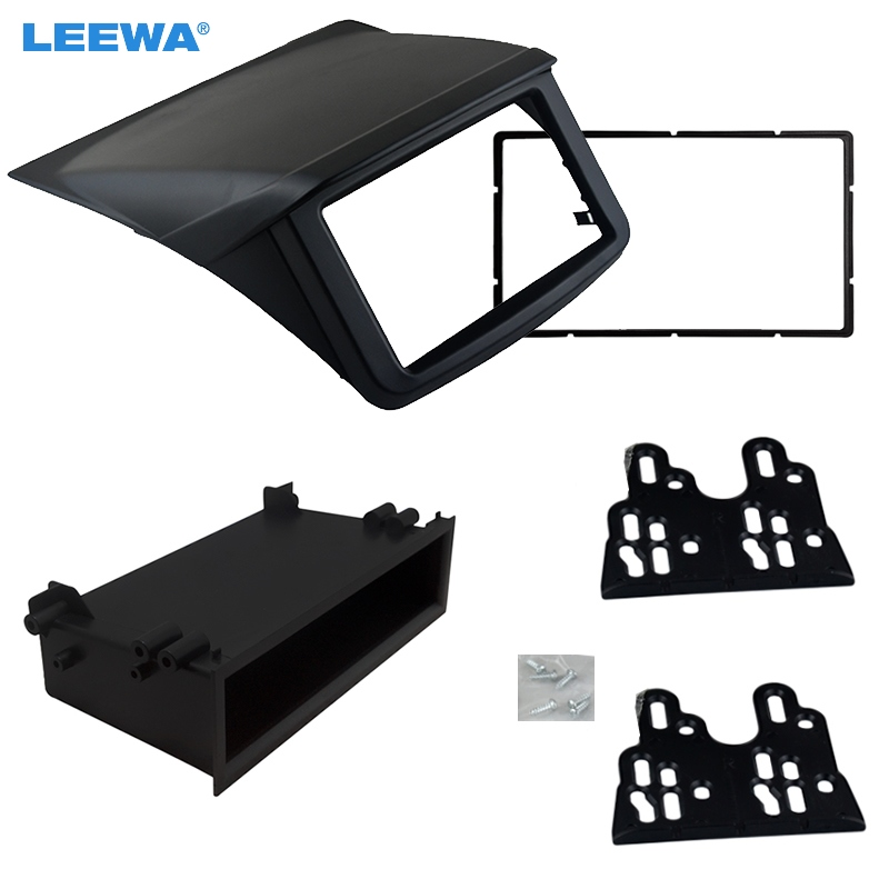 LEEWA 1Din 2Din For Mitsubishi Pajero Sport Triton L200 Radio DVD Stereo Panel Dash Mounting Trim Kit Face Frame Fascia maximumcatch 5 6wt fly fishing combo 9ft fly rod and avid pre spooled reel outfit