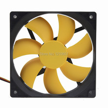 5Pieces lot PC Computer Case Cooling Fan Cooler 12V 3Pin 4Pin 120mm 120 x25mm Hydraulic