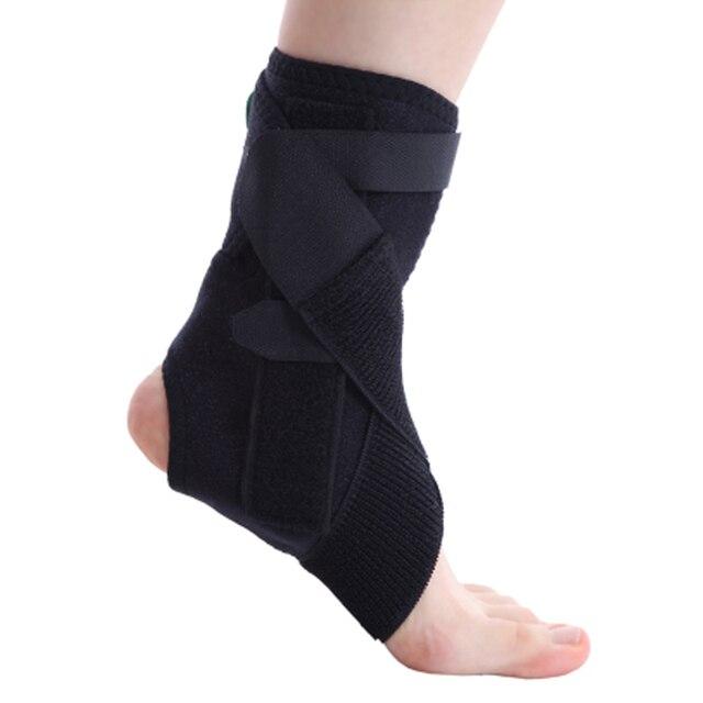 1Pcs Adjustable Drop Foot Support Brace Strap Elevator Poliomyelitis Hemiplegia Stroke Ankle Foot Orthosis Hemiplegia Ankle
