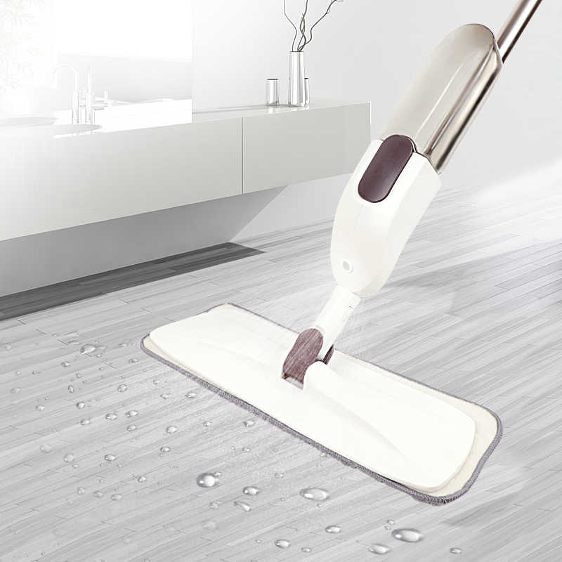 الكونغرس جديد شقة الطابق المماسح لتنظيف المنزل ماجيك ممسحة رشاشة مع منصات ستوكات قابلة لإعادة الاستخدام المنزل المطبخ نظيفة أداة