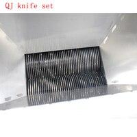 Lâmina de carne máquina de corte 2-35mm (pode fazer a ordem especial) lâmina de lâmina do cortador de carne de Carne faca