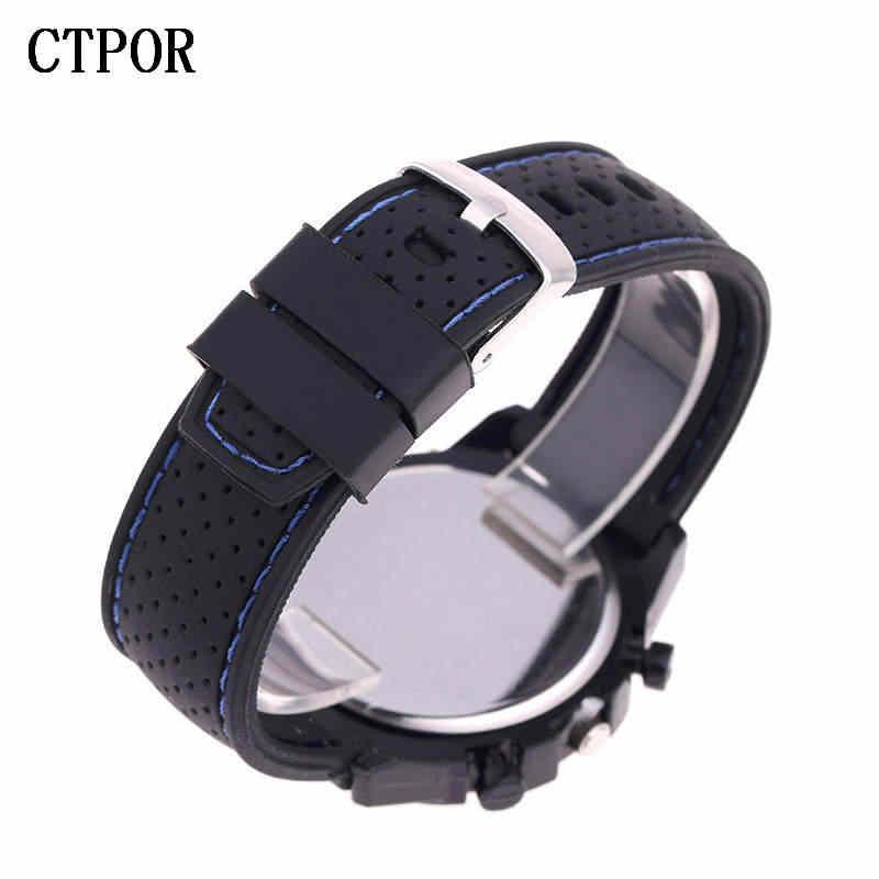 9-18 ans sport enfants montre militaire sport voiture Style homme montres Silicone montre-bracelet enfant étudiant horloge enfants garçon WA
