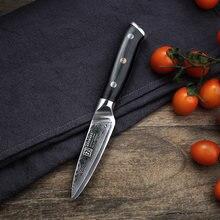 """Keemake 35 """"нож для чистки овощей и фруктов vg10 из высокоуглеродистой"""