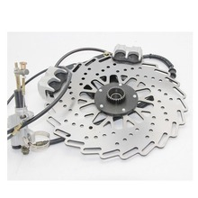 Ural CJ K750 motor new modify front wheel brake pads and caliper system case for BMW R1 R50 R71 M72 side car motor