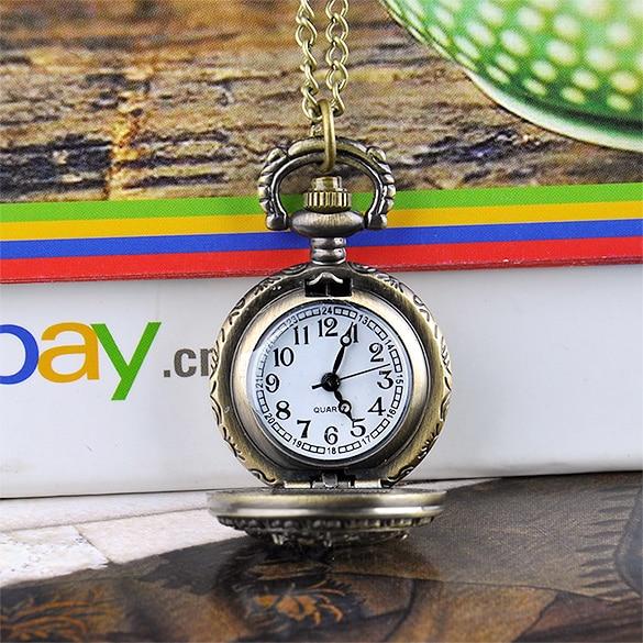 FANALA Quartz Pocket Watch Vintage Dragonfly õõnes stiil mehed - Pocket kellad