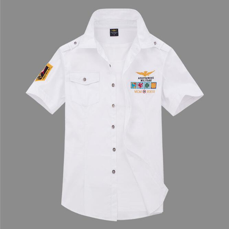 Men's short sleeve shirt new fashion casual 1