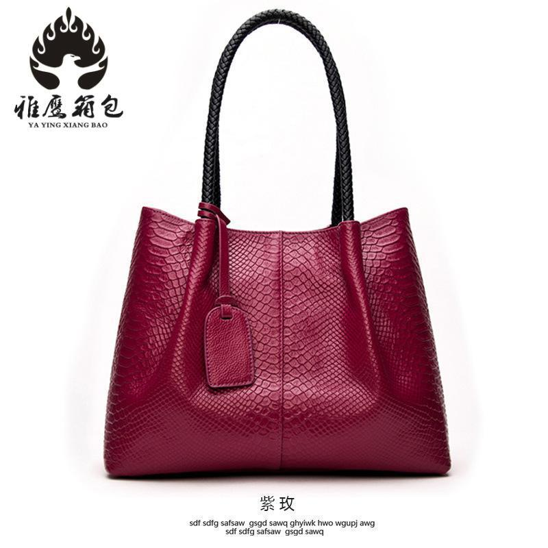 Genuine Leather Women Handbags Fashion Leather Tote Shoulder Bag Bolsas Femininas Large Capacity Casual Women Bags 2017 new classic casual scrub tote lady genuine leather handbags popular women fashion shoulder bags easy matching bolsas qn027