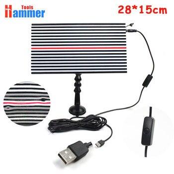 USB PDR King лампа доска PDR King свет отражательная панель с Регулируемый держатель ручной инструмент набор >>