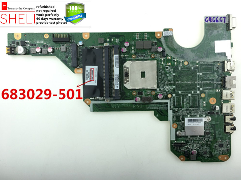 683029-501 for hp G4 G6 G7 motherboard, DA0R53MB6E1 REV : E, free CPU included,Excellent condition. SHELI store 60days warranty. da0ze6mb6e0 for acer aspire one d257 motherboard mbsfv06002 atom 1 6ghz grade a sheli store 60days warranty