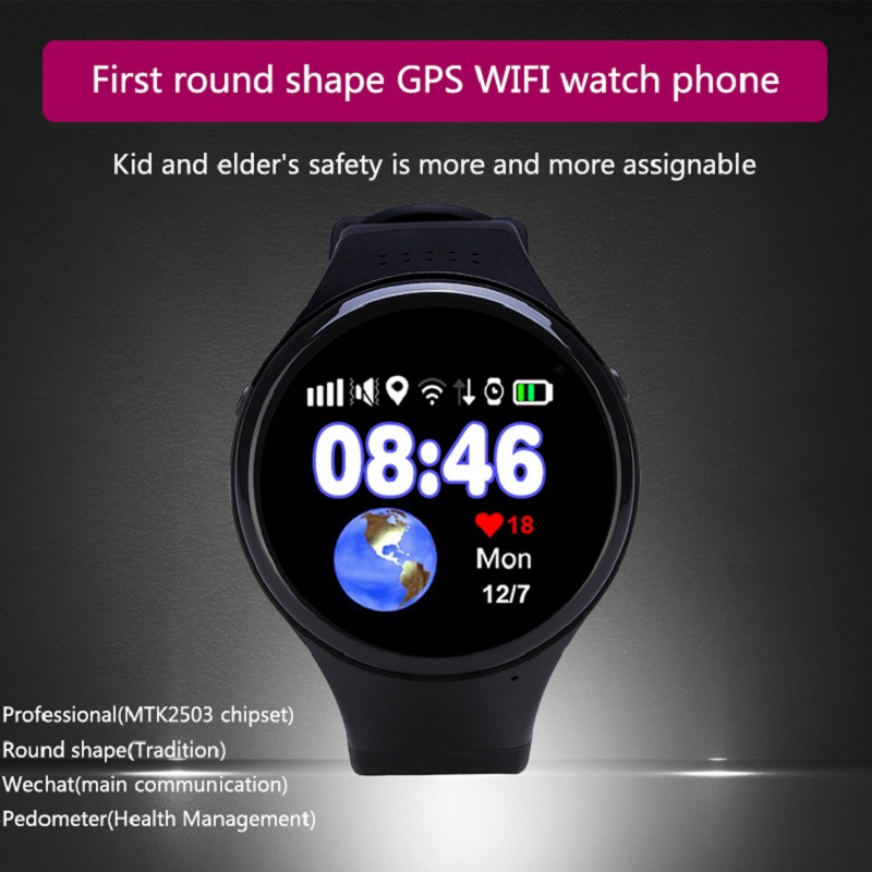 GPS smart watch GPS tracking watch for Children old man with Wifi SOS Call Location Device  Anti-Lost Monitor Tracker wireless service call bell system popular in restaurant ce passed 433 92mhz full equipment watch pager 1 watch 7 call button