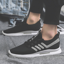 2019 Brand New Men Shoes Summer Light Weight Soft Sneakers Hot Sale Harajuku Casual Mesh Increase Run
