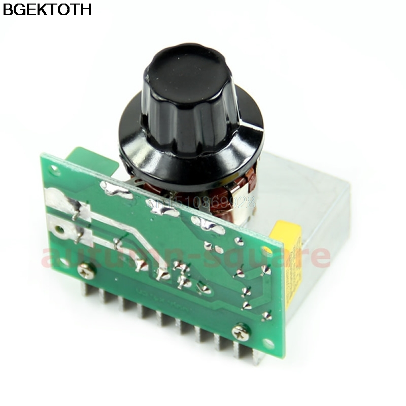 AC 220V 3800W SCR Voltage Regulator Dimming Dimmers Speed Controller Thermostat
